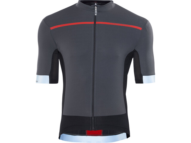 Castelli Forza Pro Bike Jersey Shortsleeve Men grey red at Bikester.co.uk 4a08289df